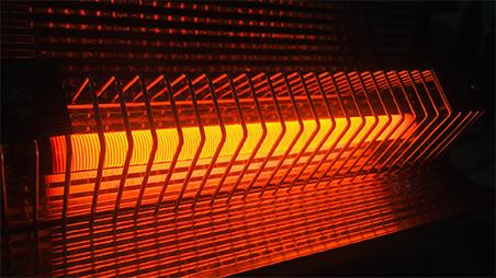 بخاری برقی از نوع تابشی عکس استفاده شده در سایت فروشگاه لوازم خانگی myernest.com