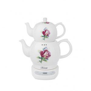چای ساز روهمی فلر مدل TS112 برند فلر نمای روبرو محصول دسته کالای لوازم پخت و پز - چای ساز عکس استفاده شده در سایت فروشگاه اینترنتی لوازم خانگی مای ارنست myernest.com
