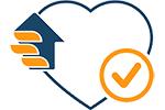 لوگوی تضمین سلامت کالا ویژگی های سایت مای ارنست عکس استفاده شده در سایت فروشگاه اینترنتی لوازم خانگی مای ارنست myernest.com