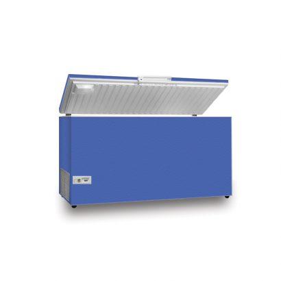 فریزر صندوقی اورست 260 لیتری مدل تک درب رنگ آبی برند اورست نمای پرسپکتیو محصول دسته لوازم بزرگ آشپزخانه - یخچال فریزر عکس استفاده شده در سایت فروشگاه اینترنتی لوازم خانگی مای ارنست myernest.com