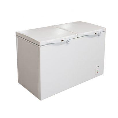 فریزر صندوقی اورست 260 لیتری مدل دو درب رنگ سفید انواع یخچال فریزر عکس استفاده شده در سایت فروشگاه اینترنتی لوازم خانگی مای ارنست myernest.com